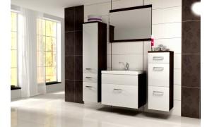Badezimmer Evo Weiß