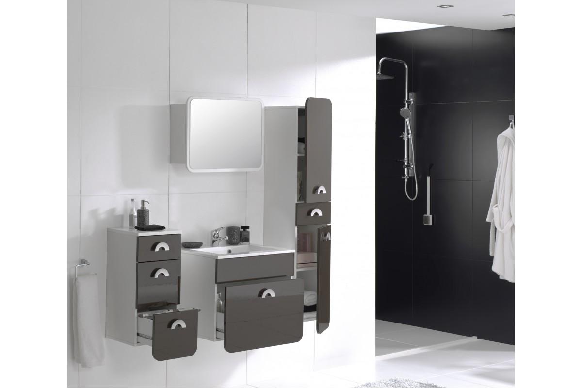 Badezimmer rondo grau for Badezimmer grau