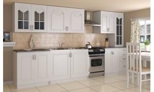 Küche Agata 300cm Weiß