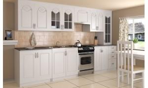 Küche Agata 320cm Weiß
