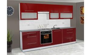 Küche Alice 280cm Rot