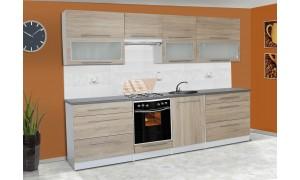 Küche Alice 280cm Cappuccino