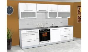 Küche Alice 280cm Weiß