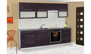 Küche Lily 260cm Violett