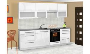 Küche Lily 260cm Weiß
