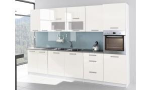 Küche Tess 320cm Vanille