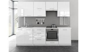 Küche Toro 260cm Weiß
