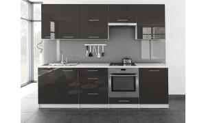 Küche Toro 260cm Grau