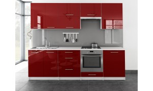 Küche Toro 260cm Rot