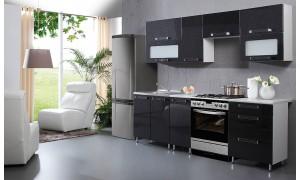 Küche Galexy Schwarz